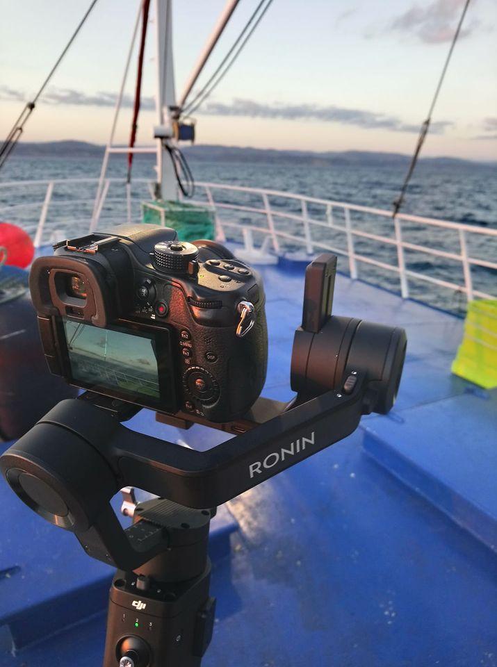 Grabar desde un barco - Alpha Drones