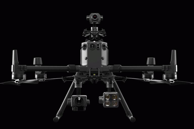 drones de gama media y alta