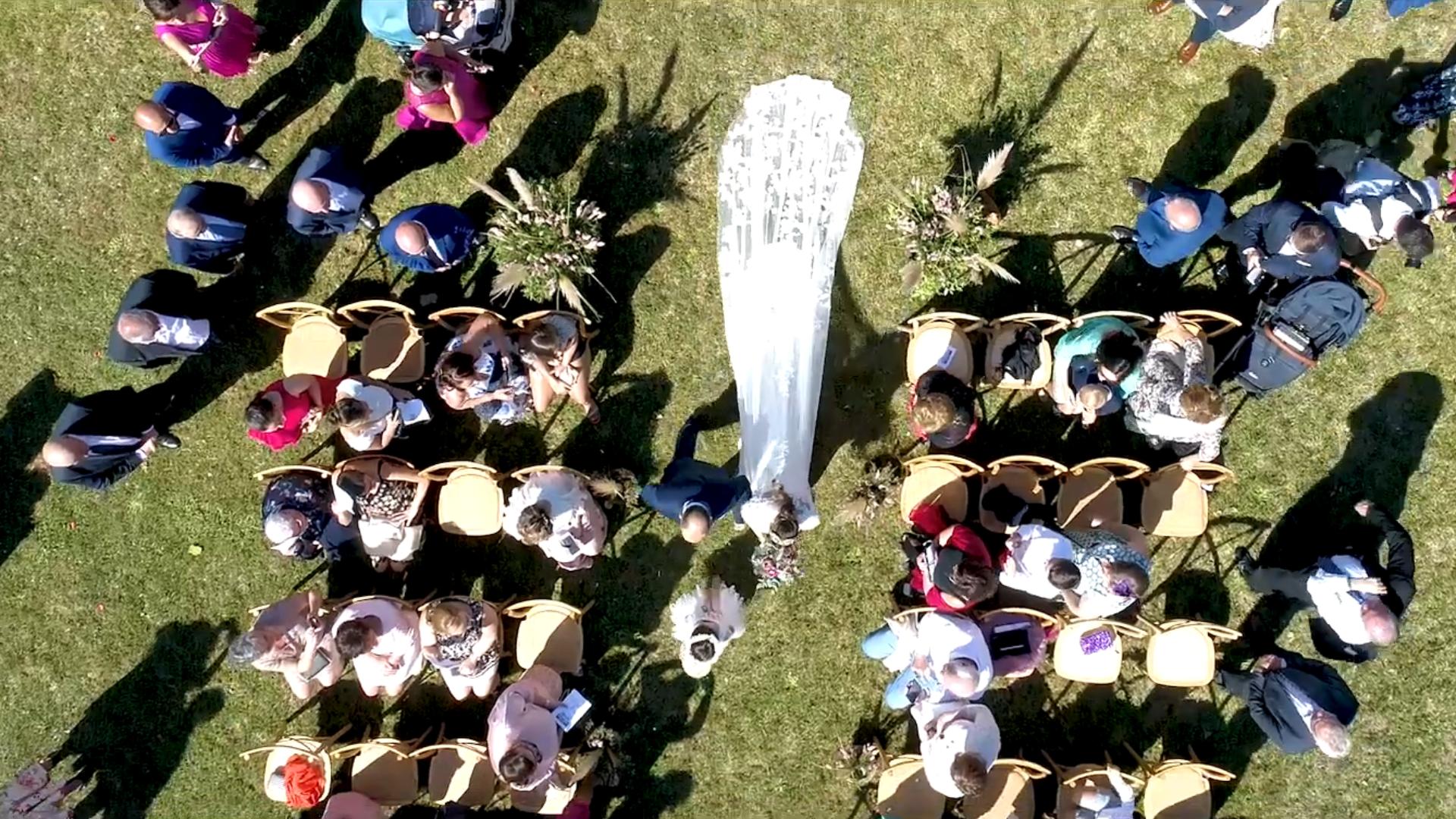 bodas con drones